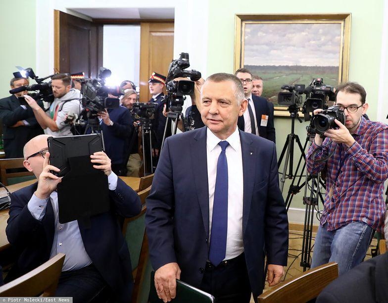 Marian Banaś postawił się swoim niedawnym sojusznikom z Prawa i Sprawiedliwości.