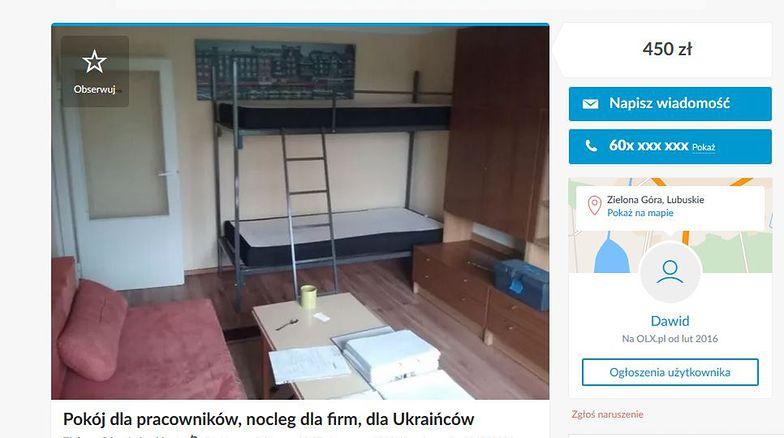 Ukraińcy narzekają, że trudno im tanio wynająć mieszkanie. Biura radzą: przyjedźcie z rodziną