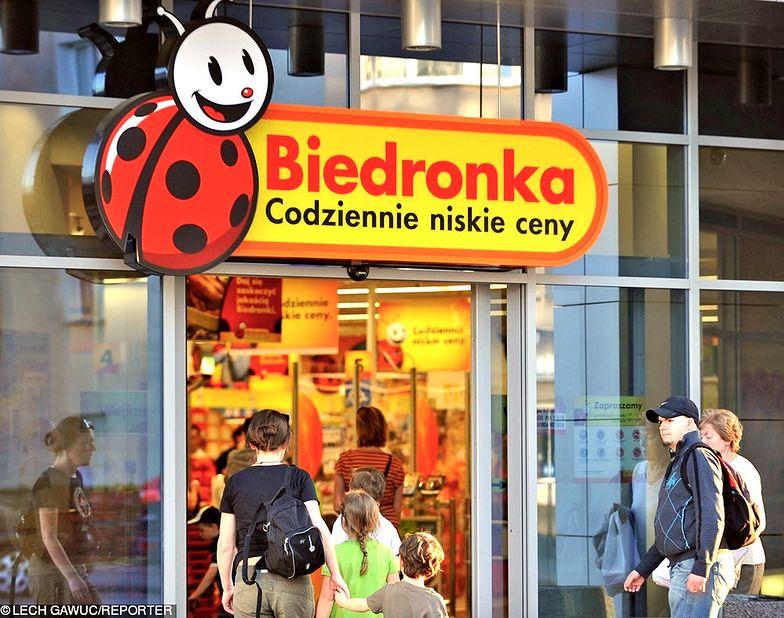 Po informacji o podatku handlowym właściciel Biedronki spadł o pięć procent
