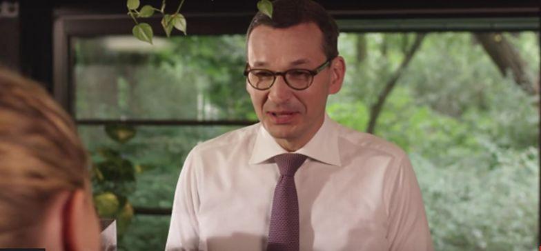 Mateusz Morawiecki wystąpił w spocie promującym zerowy PIT dla młodych pracowników