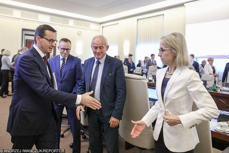 Teresa Czerwińska jest zadowolona z prognoz MFW