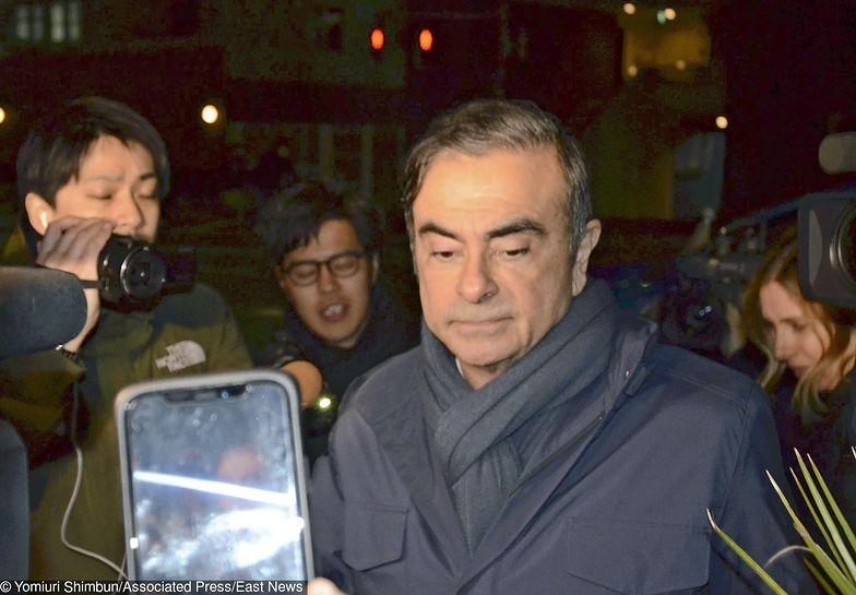 Carlos Ghosn został ponownie aresztowany