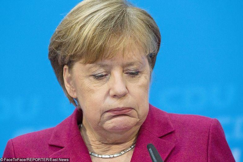 Angela Merkel ostatnią kadencję kanclerza kończy w złym nastroju