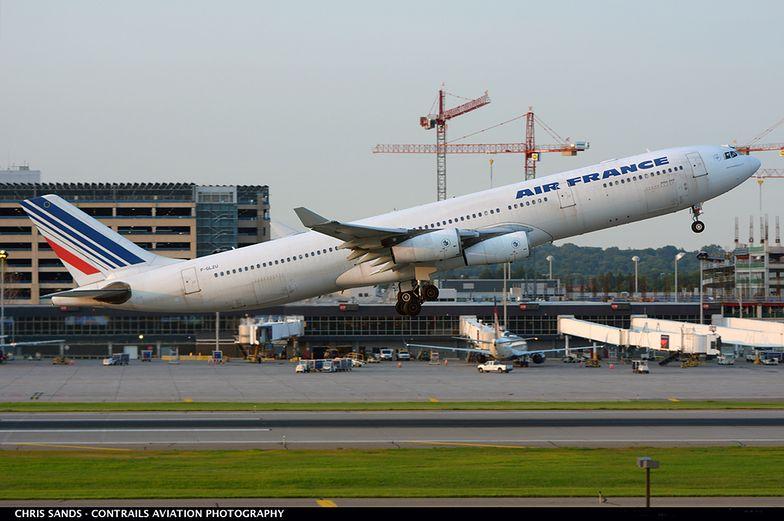 Air France i KLM ograniczają loty do Chin.