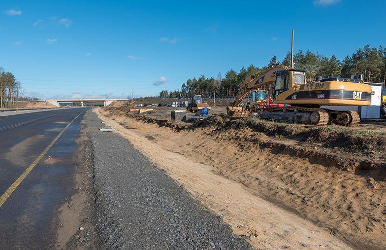 Marzec 2019. Przestój na budowie drogi ekspresowej S3.