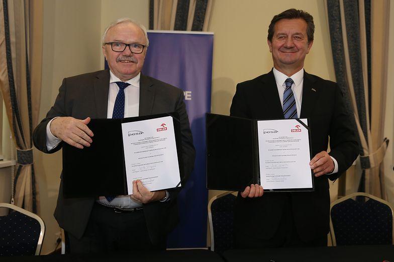 PKN Orlen i Pesa Bydgoszcz wspólnie rozpoczną prace nad bezemisyjnymi środkami transportu.