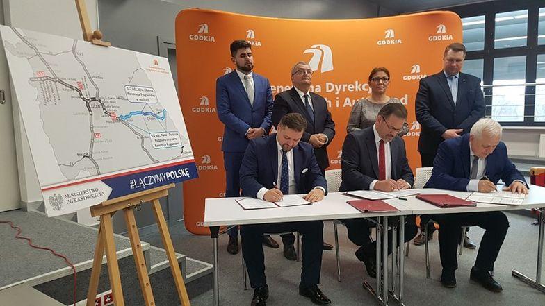 Dwie umowy dot. budowy trasy S12 zostały podpisane
