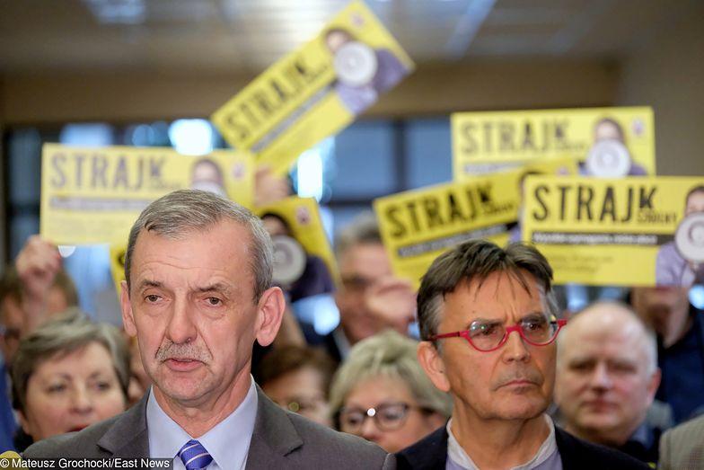 Strajk nauczycieli. Dziś wyniki referendum