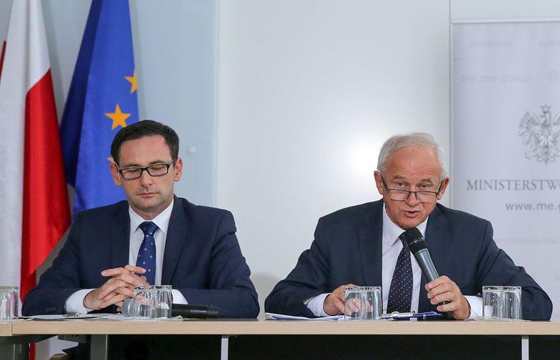 Daniel Obajtek i Krzysztof Tchórzewski