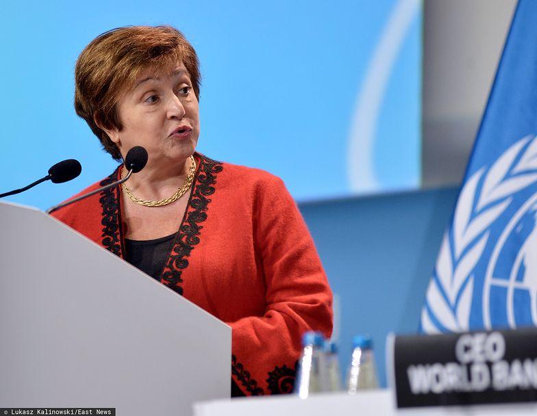 Kristalina Georgiewa nie ma wątpliwości, że kryzys gospodarczy wywołany pandemią koronawirusa jest największym od lat 30. XX w.