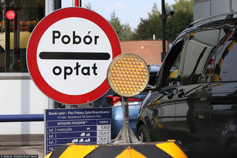 Ruch na A4 między Katowicami i Krakowem spadł o ponad połowę.