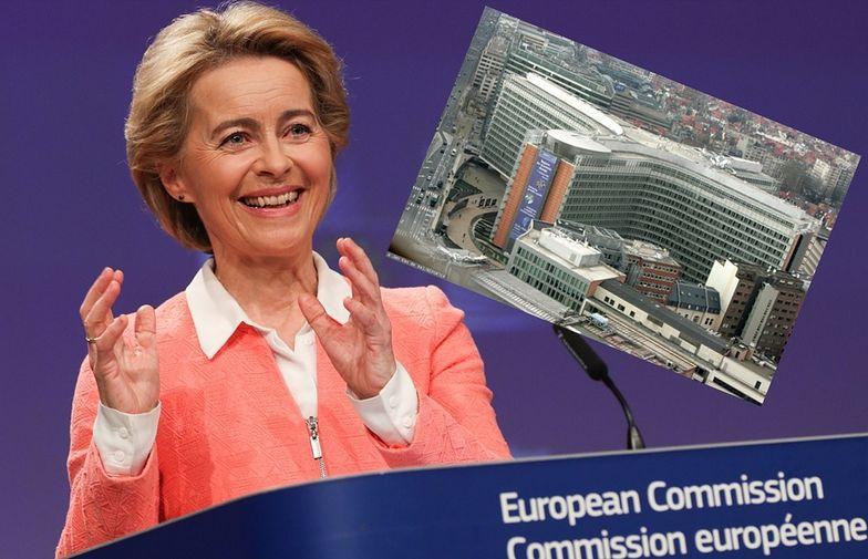 Ursula von der Leyen zamieszka w kawalerce przy swoim biurze w budynku Komisji Europejskiej.