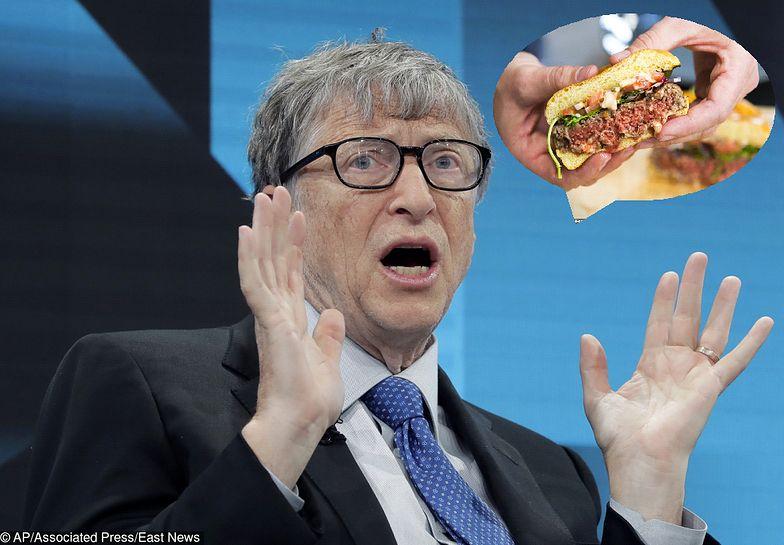 Bill Gates nie jest jedynym miliarderem, który interesuje się produkcją bezmięsnego burgera