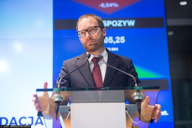Na czele GPW stoi prezes Marek Dietl.