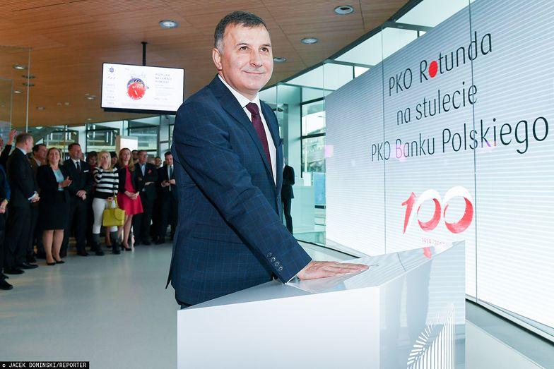 Zbigniew Jagiełło od lat stoi na czele PKO BP.