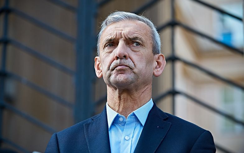 Sławomir Brozniarz, prezes ZNP.