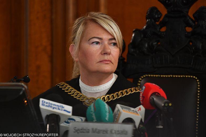 Wyrok w sprawie Amber Gold odczytuje sędzia Lidia Jedynak z Gdańskiego Sądu Okręgowego.