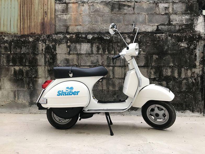 Zamówimy skuter jak taksówkę. Zapłacimy kryptowalutą