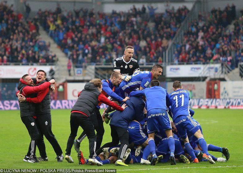 Piast Gliwice po raz pierwszy w historii może w niedzielę zostać mistrzem Polski.