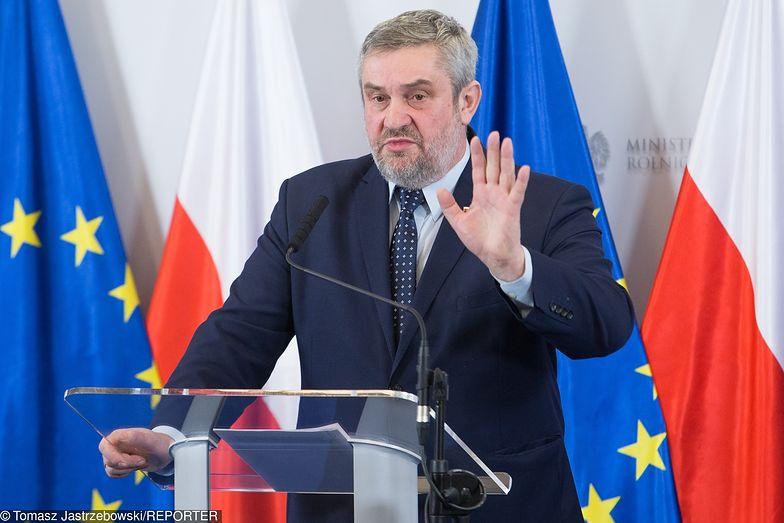 Jan Krzysztof Ardanowski, minister rolnictwa.