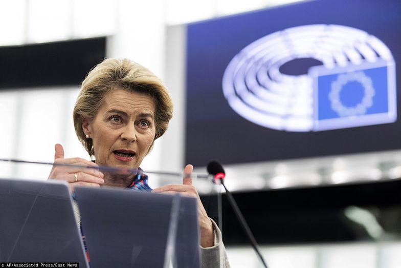 Przewodnicząca Komisji Europejskiej Ursula von der Leyen.
