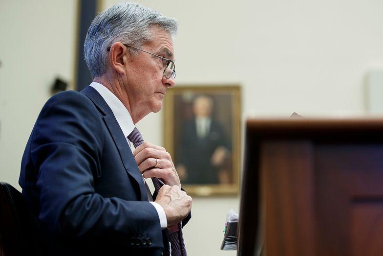 Jerome Powell przed Komisją ds. Usług Finansowych Izby Reprezentantów.