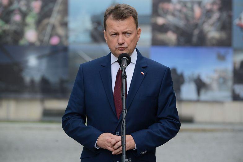 F-35 w Polsce? Na zdj. Mariusz Błaszczak Minister Obrony Narodowej