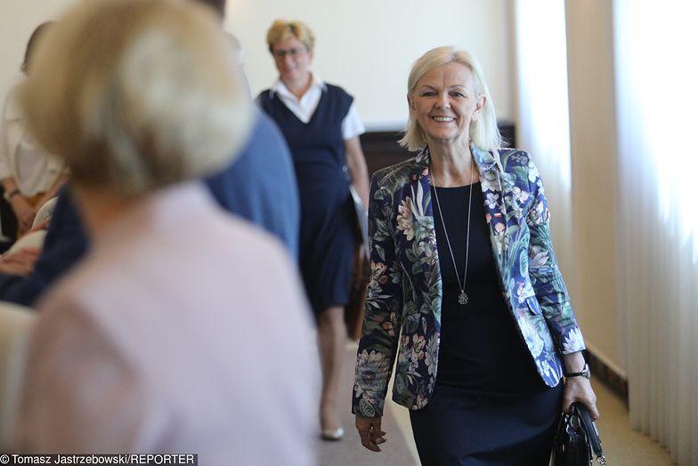 Bożena Borys-Szopa, minister rodziny, pracy i polityki społecznej