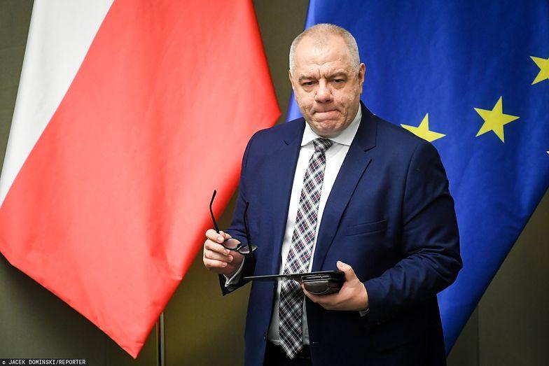 Wicepremier Jacek Sasin o wsparciu ze strony spółek skarbu państwa w czasie pandemii