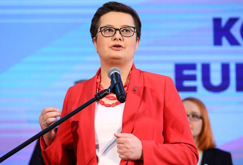 Katarzyna Lubnauer wskazuje na winę rządu w sporze z nauczycielami