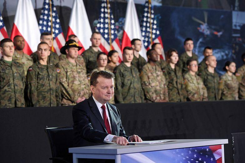 Kierowane przez Mariusza Błaszczaka ministerstwo obrony narodowej odpowiada na zarzuty byłego premiera