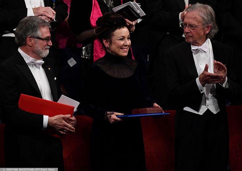 Olga Tokarczuk odebrała nagrodę Nobla w dziedzinie literatury za 2018 r.