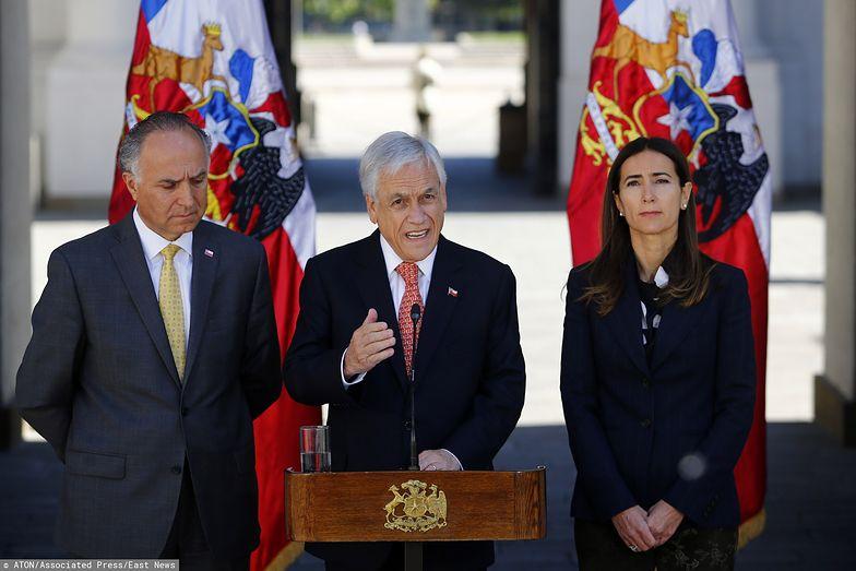 Prezydent Chile Sebastian Pinera odwołał dwie ważne konferencje.