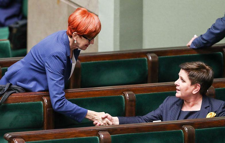 Beata Szydło i Elżbieta Rafalska - to one są twarzami socjalnej polityki PiS