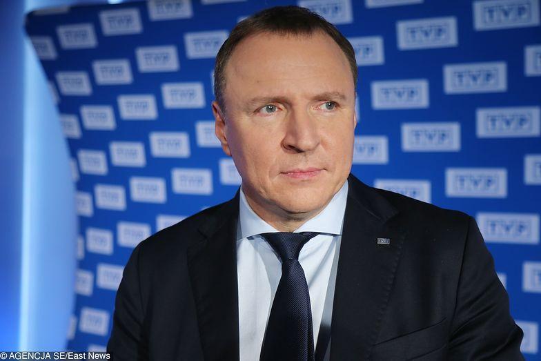 Rekompensata to dobra wiadomość dla prezesa TVP Jacka Kurskiego