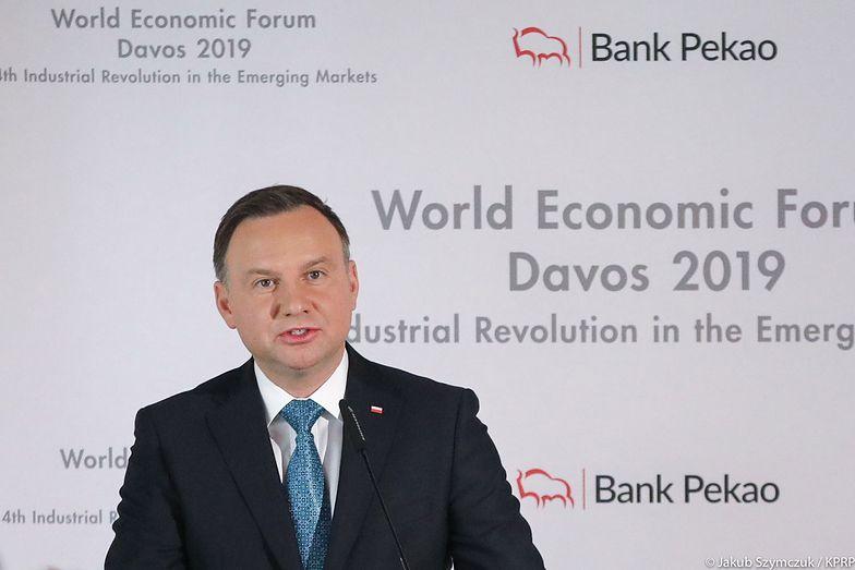 - Polska ma unikatowe warunki dla innowacji - przekonywał prezydent w Davos
