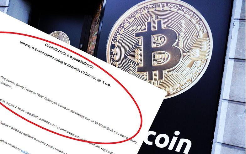 Dziwnym zbiegiem okoliczności Coinroom zamknął się w dniu, gdy cena bitcoina urosła do niespotykanych od 2018 roku poziomów