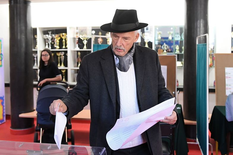 Janusz Korwin-Mikke powraca do Sejmu