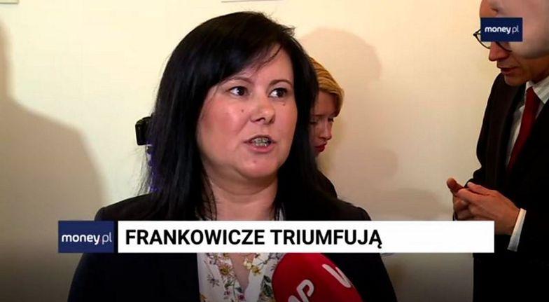 Justyna Dziubak nie kryła zadowolenia po wyroku sądu z 3 stycznia.