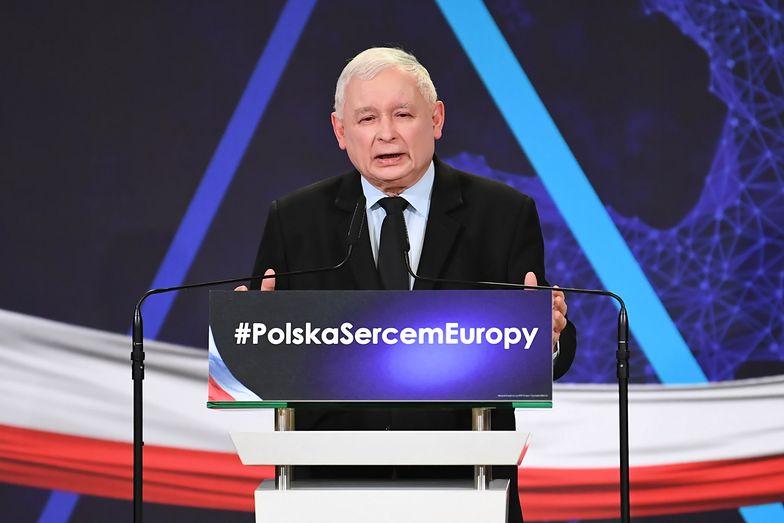 Prezes PiS zadeklarował, że Polska nie wprowadzi euro dopóki standard życia nie podniesie się do poziomu niemieckiego.