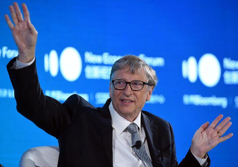 Bill Gates to twórca Microsoftu, wiele let otwierał listy najbogatszych ludzi świata