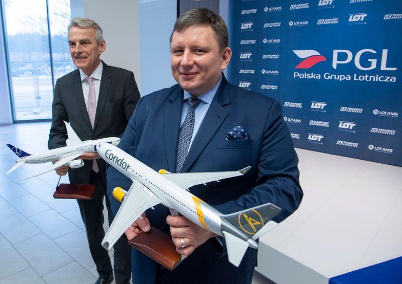 Rafał Milczarski, prezes LOT, nie chce komentować kwot, które padają w kontekście transakcji