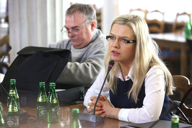 Małgorzata Wassermann podkreśliła, że nikt nie wpływał na pracę komisji