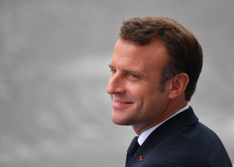 Francja nie wycofa się z podatku cyfrowego GAFA. Na zdj. prezydent Francji Emmanuel Macron.
