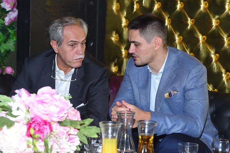 Zygmunt Solorz-Żak wraz z synem Tobiasem, który zrezygnował z szefowania zarządowi Cyfrowego Polsatu.