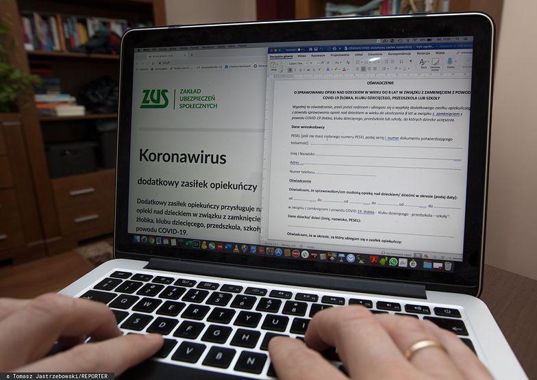 Do ZUS-u napływają setki wniosków o skorzystanie z rządowej pomocy.
