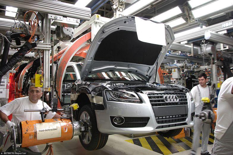 Produkcja przemysłowa w Niemczech spada.