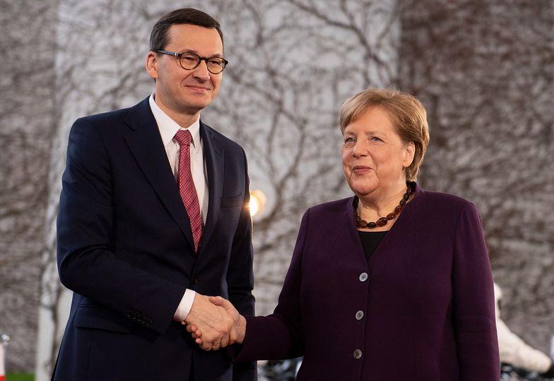 Mateusz Morawiecki spotkał się we wtorek z Angelą Merkel.