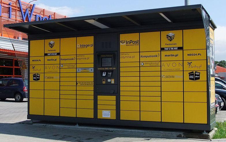 InPost kojarzony jest z charakterystycznymi żółtymi urządzeniami