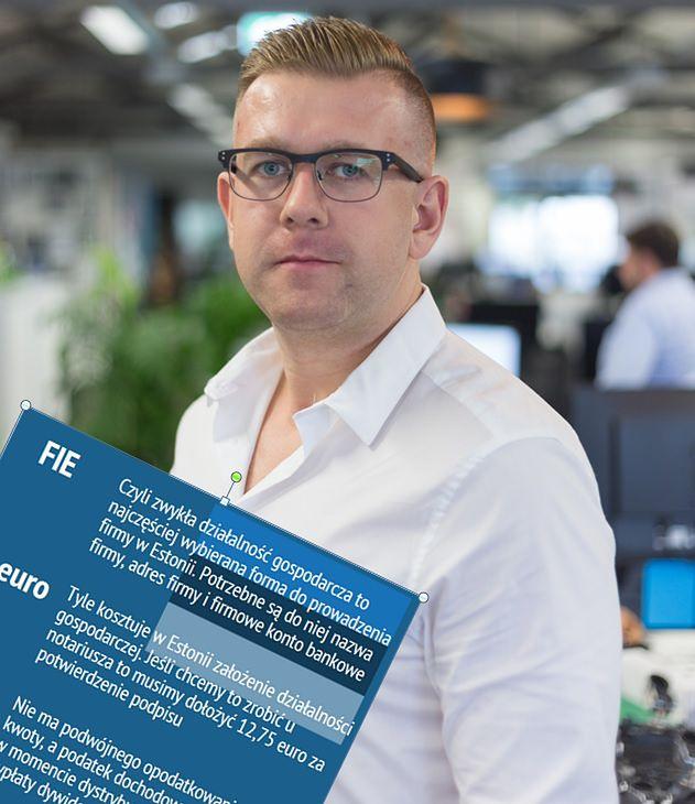 Przedsiębiorca Jarosław Siekierski mówi money.pl, że sam pomógł już 200 polskim spółkom w Estonii.